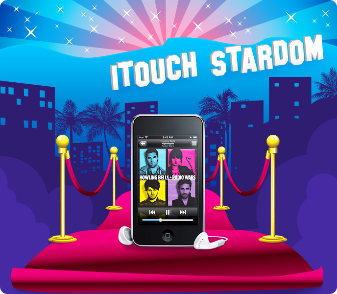 itouch stardom apple ipod touch