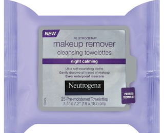 neutrogena makeup remover night calming