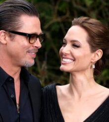 Angelina Jolie first public words about her divorce