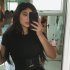 Kylie Jenner showing off flat tummy