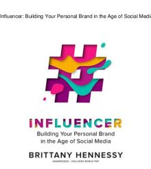 Influencer by Brittany Hennessy